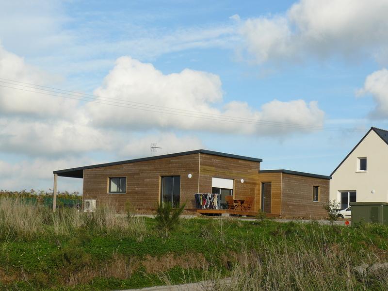 Connu Maison bois Trecobat à Tregana (29) | Photothèque de l'ADEUPa  LR58