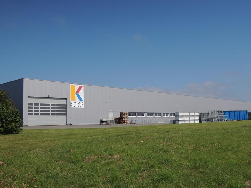 Locaux d 39 activit de l 39 entreprise kiclos guipavas za de for Garage ad brest kergaradec